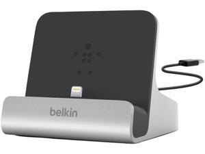 Belkin Painted aluminum finish F8J088bt Express Dock for iPad with built-in 4-foot USB cable