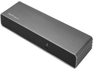 StarTech.com TB3DK2DHV Dual 4K Monitor Thunderbolt 3 Dock with DisplayPort, HDMI & VGA - 85W Power Delivery + Charging - Mac & Windows (TB3DK2DHV)