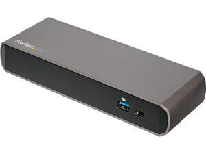 StarTech.com TB3DK2DPPD Dual 4K Monitor Thunderbolt 3 Dock with DisplayPort - 85 W Power Delivery + Charging - Mac & Windows (TB3DK2DisplayPortPD)