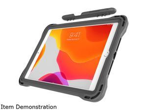 """Brenthaven Gray Edge 360 Case for iPad 10.2"""" - Designed for Apple iPad 10.2"""" 2019 7th Gen Model 2890"""