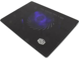 Cooler Master NotePal i300 - Laptop Cooling Pad with 160 mm Blue LED Fan and Metal Mesh Surface