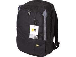 """Case Logic Black 17"""" Laptop Backpack Model VNB-217"""