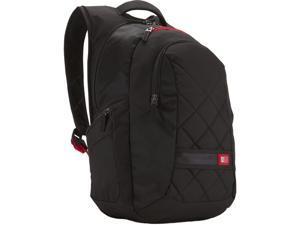 """Case Logic Black 16"""" Laptop Backpack Model DLBP-116"""