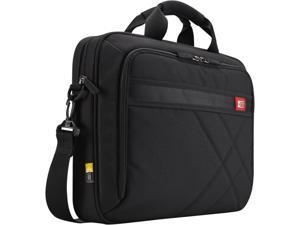 """Case Logic Black 15.6"""" Laptop and Tablet Case Model DLC-115"""