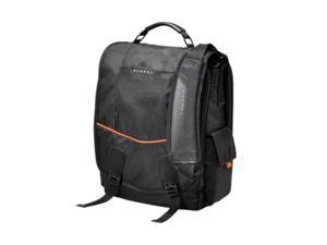 "Everki Black 14.1"" / MacBook Pro 15"" Urbanite Laptop Vertical Messenger Bag Model EKS620"