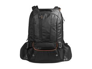 "Everki Black 18"" Beacon Laptop Backpack w/Gaming Console Sleeve Model EKP117NBKCT"