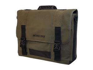 "Mobile Edge Olive 17.3"" Eco-Friendly Laptop Messenger Model MECME9"