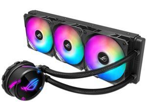 ASUS ROG Strix LC 360 RGB All-in-one Liquid CPU Cooler 360mm Radiator, Intel 115x/2066 and AMD AM4/TR4 Support, Triple 120mm 4-pin PWM Addressable RGB Fans