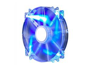Cooler Master MegaFlow 200 - Sleeve Bearing 200mm Blue LED Silent Fan for Computer Cases