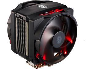 Cooler Master MasterAir Maker 8 High-end CPU Air Cooler, 3D Vapor Chamber Base, 8 Heatpipes, Aluminum Fins, Dual Silencio FP120 Fans AMD/Intel LGA1200/1151/2066