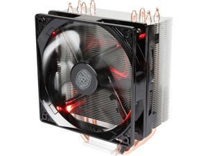 Cooler Master Hyper 212 LED with PWM Fan, Four Direct Contact Heatpipes, Unique Fan Blade Design, Red LEDs, Optimized Bracket