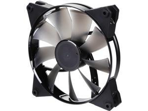 Cooler Master MasterFan Pro 140 Air Flow with Jet-inspired Fan Blade, Speed Profiles, Exclusive Silent Driver, Rubber Mounting Inserts, and Jam Protection