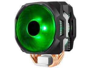 Cooler Master MA610P RGB CPU Air Cooler, 6 CDC Heatpipes, Dual 120mm RGB MasterFan