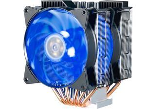Cooler Master MasterAir MA621P RGB ThreadRipper TR4 Twin Tower CPU Air Cooler 6 CDC 2.0 Heatpipes, Aluminum Fins, Push-Pull, Dual MF120R RGB Fans RGB Lighting