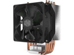 Cooler Master Hyper H412R Compact CPU Air Cooler with 4 Copper Heat Pipes. 92mm PWM Fan, Direct Contact Technology for AMD Ryzen/Intel LGA1200/1151