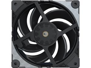 Cooler Master MasterFan SF120M Performance PWM Fan w/ Patented Damping Frame Design Technology, Inter-Connecting Fan Blade, and Anti-Vibration Motor for a Silent Performing Case, CPU Cooler and Liquid