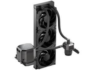 CoolerMaster MasterLiquid ML360 SUB-ZERO, Thermoelectric Cooling (TEC) AIO CPU Liquid Cooler Powered by Intel Cryo Cooling Technology, 2nd Generation Pump, 360 Radiator for Intel LGA 1200