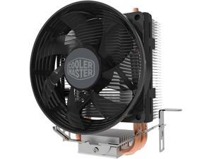 Cooler Master Hyper T20 Compact CPU Air Cooler with 2 Copper Heat Pipes. 95mmFan, Direct Contact Technology for AMD Ryzen/Intel LGA1200/1151