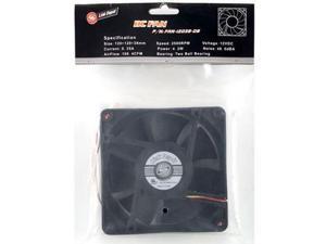 Link Depot FAN-12038-DB 120mm Case Cooling Fan
