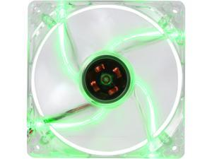 Link Depot FAN-4LED-120GN 120mm Green LED Case Cooling Fan