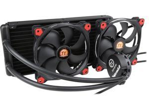 Thermaltake Water 3.0 280 Riing Red Edition PWM AIO Tt LCS Certified Liquid Cooling System CL-W138-PL14RE-A