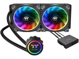 Thermaltake Floe AIO Riing RGB 280 TT Premium Edition PWM TR4 LGA2066 Ready Liquid Cooling System CL-W167-PL14SW-A