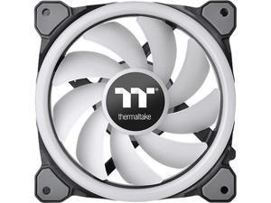 Thermaltake Riing Trio 14 LED RGB Radiator Fan TT Premium Edition (3-Fan Pack) CL-F077-PL14SW-A 140mm RGB LED Case Fan