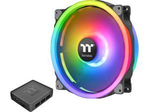 Thermaltake Riing Trio 20 RGB CL-F083-PL20SW-A 200mm Addressable RGB LED Case Fan