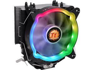 Thermaltake UX200 ARGB Lighting 120mm Hydraulic Bearing CPU Cooler - CL-P065-AL12SW-A