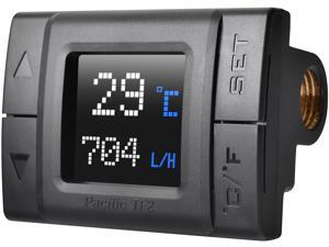 Thermaltake Pacific TF2 G1/4 Copper Core Construction TT RGB Plus Software Monitoring Celsius /Fahrenheit Temperature and Flow Indicator, CL-W275-CU00SW-A