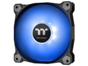 Thermaltake Pure A12 120mm Blue LED PWM Controlled Hydraulic Bearing High Airflow High Performance Case/Radiator Fan, CL-F109-PL12BU-B