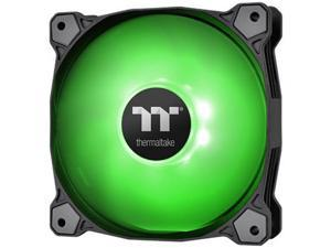 Thermaltake Pure A12 120mm Green LED PWM Controlled Hydraulic Bearing High Airflow High Performance Case/Radiator Fan, CL-F109-PL12GR-B