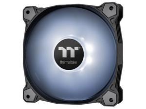 Thermaltake Pure A14 140mm White LED PWM Controlled Hydraulic Bearing High Airflow High Performance Case/Radiator Fan, CL-F110-PL14WT-B