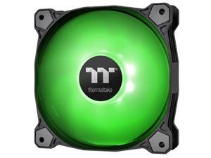 Thermaltake Pure A14 140mm Green LED PWM Controlled Hydraulic Bearing High Airflow High Performance Case/Radiator Fan, CL-F110-PL14GR-B