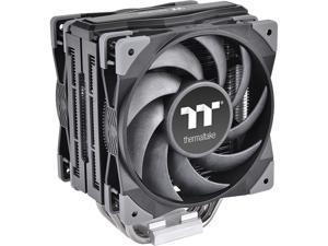 Thermaltake TOUGHAIR 510 180W TDP CPU Cooler, Dual 120mm 2000RPM High Static Pressure PWM Fan with High Performance Copper Heat Pipes CL-P075-AL12BL-A