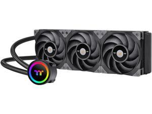 Thermaltake TOUGHLIQUID 360 ARGB Motherboard Sync Edition AMD/Intel LGA1200 Ready All-in-One Liquid Cooling System 360mm High Efficiency Radiator CPU Cooler CL-W321-PL12BL-A