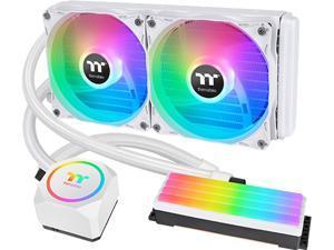 Thermaltake Floe RC240 CPU & Memory AIO Liquid Cooler - White