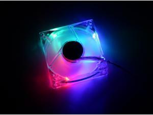 Antec 761345-77043 80mm Multi-Color LED Case Cooling Fan