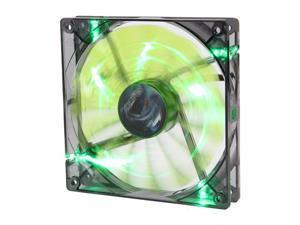 AeroCool Shark 120mm Green, Green LED Case Fan
