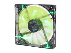 AeroCool Shark 140mm Green, Green LED Case Fan