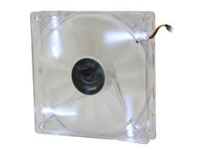AeroCool Shark 140mm White, White LED Case Fan