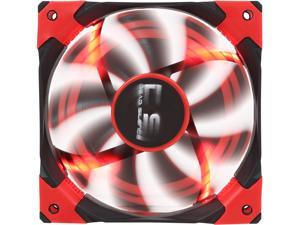 AeroCool DS 120mm Red 120mm Patented Dual layered blades with noise and shock reduction frame