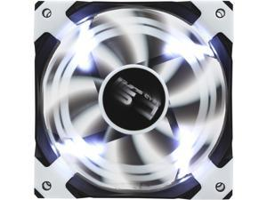AeroCool DS 120mm White 120mm Patented Dual layered blades with noise and shock reduction frame
