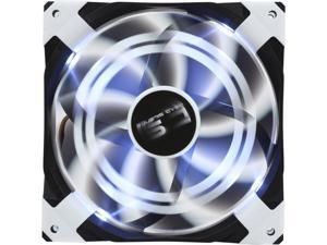 AeroCool DS 140mm White 140mm Patented Dual layered blades with noise and shock reduction frame