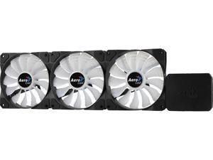 AeroCool P7-F12 Pro 120mm 3 RGB LED Fans with PWM Fan Control Hub Can control up to 5 RGB Fans