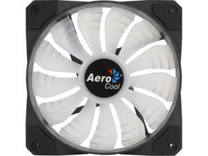 AeroCool P7-F12 120mm 16.8 Million Colors LED 120mm RGB LED Fans Access to 16.8 million Colors Compatible with All Major Motherboard