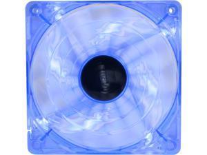 Bgears B-PWM 120 BLUE 120mm Blue LED PWM technology mini 4 pin 4 wire 2 ball bearing high speed high performance 15 blades Case Fan
