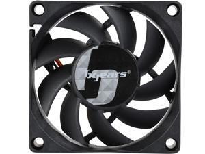 Bgears b-Blaster 70 70mm 2 Ball Bearing High Speed 4500rpm With 48 Cfm 70x70x15mm 3pin 3wire Dc Fan
