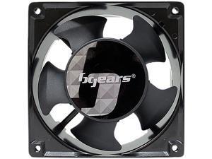 Bgears b-Blaster-AC 100-125V 2ball bearing Heavy Duty Cast Aluminum 120mm x 38mm 2800 RPM fan