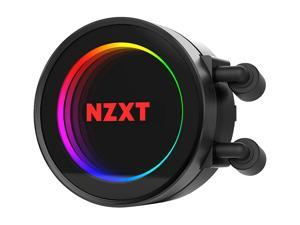 NZXT Kraken X52 240mm - All-In-One RGB CPU Liquid Cooler - CAM-Powered - Infinity Mirror Design - Performance Engineered Pump - Reinforced Extended Tubing - Aer P120mm Radiator Fan (2 Included)
